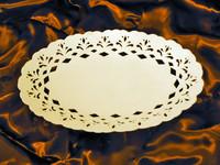 Piatto ovale in Pizzo Adele