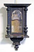 Orologio a pendolo prima del restauro