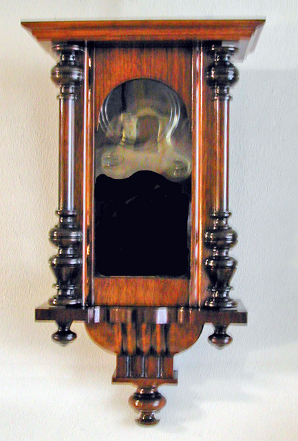 Orologio a pendolo a restauro concluso